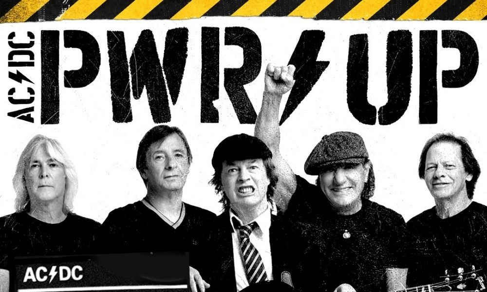 """POWER UP"" el nuevo disco de ACDC rompe récords de ventas"
