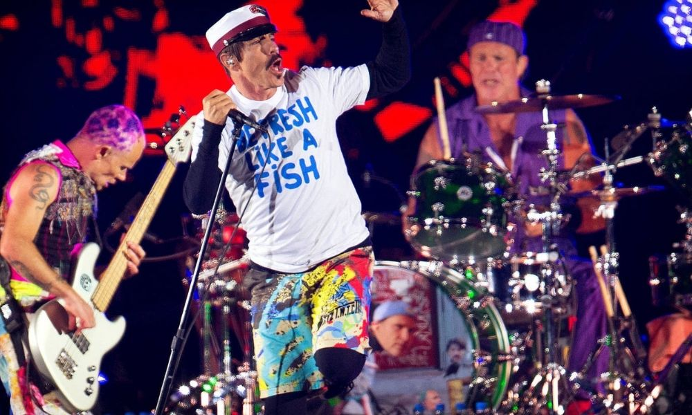 Red Hot Chili Peppers vende su catálogo musical por ¡140 millones de dólares!